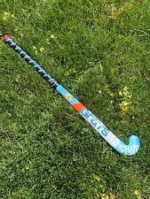 Grays Surf Blue Jr Field Hockey Stick 45 Degree Maxi Fiberglass Reinforcement