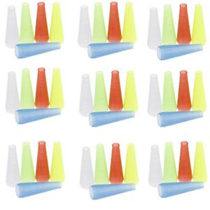 Bulk 50 x Shisha Hookah Mouth Tips Piece Disposable Plastic Drip Pipe Filter
