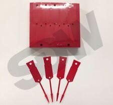 Versa Tags Arrow ID Self Locking Service Key Tags (1000 pack) Red Key Tags