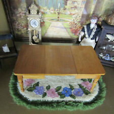 Antique Dollhouse SCHNEEGAS VICTORIAN DINING ROOM TABLE Wood Furniture Germany