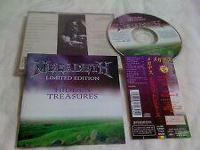 MEGADETH / hidden treasures / JAPAN LTD CD OBI 12 tracks