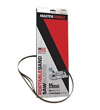 METABO MBS 18 LTX MASTER Cobalto Bandsaw LAME 20/24 TPI