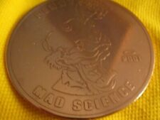 OAKLEY PENNY RARE 2001 MAD SCIENCE X METAL SHINY COIN COPPER PENNY MINT COND WOW