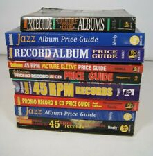 Lot of 9 GOLDMINE Record Album Jazz CDs 45s Promo Price Guide Books