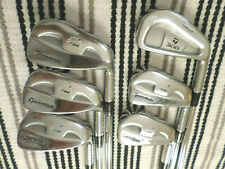 New listing Taylor Made RAC MB Coin Forged Irons 6-PW Stiff Steel Rifle 6.0 + Forged 300 3i