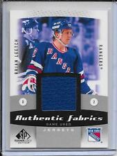 10-11 SP Game Used Brian Leetch Authentic Fabrics Jersey