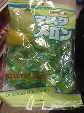 10 Packs of Kasugai Japanese Candy Musk Melon Candy