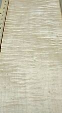 """4 Ft Boards Of Figured 4/4 Curly Maple Wood Lumber Planed To 13/16""""x5-7""""x48"""""""