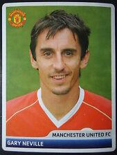 Panini 58 Gary Neville Manchester United UEFA CL 2006/07