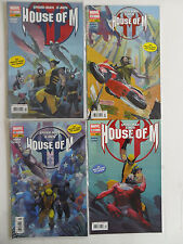 4x Comic Marvel Komplett - House of M (Spider-Man / X-men) Nr. 1+2+3+4