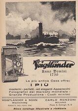 Z5209 Macchina fotografica Voigtlander - Pubblicità d'epoca - 1928 advertising