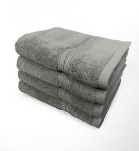 Goza Towels Luxury %100 Cotton Hand Towels 16 x 28 inches - 4 Pack