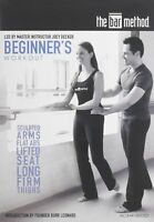 The Bar Method Beginners Workout DVD Burr Leonard Fitness Tone Barre Sculpt