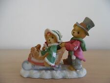 CHRISTMAS CHERISHED TEDDIES~WALKING IN A WINTER WONDERLAND~1996~SPECIAL EDITION