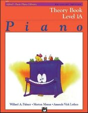 Alfred'S Piano level 1A Theory and Lesson music books Set (2 books)