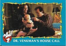 1989 Topps Ghostbusters 2 #15 Dr. Venkman's House Call   Peter   Dana   Murray