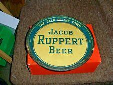 1930 Jacob Ruppert Green Beer Tray