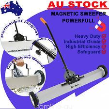 "36"" Sweeper Strong Magnet Metal Release Roller Picker Adjustable Handle Factory"
