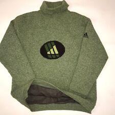Rare Vintage Adidas Turtleneck Knit Sweater size L Ski Membrane Retro