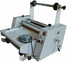 New 15 Steel Roller Hot Roll Laminator Singleampdual Sided Thermal Cold Laminator