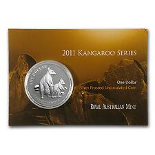 2011 Australia 1 oz Silver Kangaroo (In Display Card) - SKU #59547