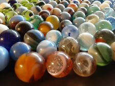 Vintage Mixed Lot 150 Glass Toy Marbles Peltier Akro Agate More Beautiful Mix