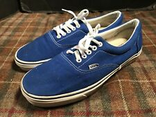 VANS Vintage Shoes Mens Sz 11 USA Made Blue Hardly Worn