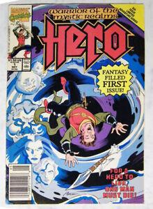 Marvel Comics HERO  Vol. 1 Nr. 1 aus 1990 . TOP