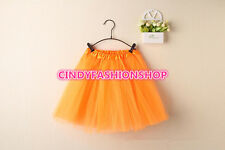 USA Women/Adult Classic Elastic 3-Layered Tulle TUTU Skirt Ballet Dancewear