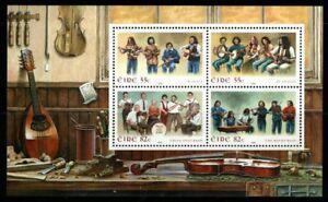 IRELAND SGMS1923 2008 IRISH MUSIC MNH