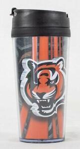 Cincinnati Bengals NFL Licensed Acrylic 16oz Tumbler Coffee Mug w/wrap Insert
