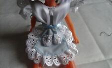 Tablier élégant pour poupée  Mignonnette ou autre de 15/20 cm