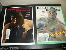 Vintage Sports Illustrated - Boxing - Qty 2