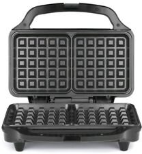 Salter Deep Fill Non Stick Iron Press Machine  Waffle Maker XL Plates