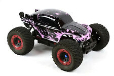 Custom Buggy Body Muddy Pink for 1/8 RC Truck Thunder Tiger MT4 G3 HPI Savage