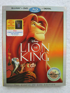 The Lion King (Blu-ray/DVD/Digital Copy, Signature Collection) *NEW* w/SLIPCOVER