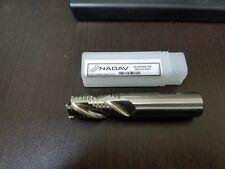 NADAV™ 20mm Roughing End Mill HSS-Cobalt M42 3 Flute 20x20x38x104 Cutter Tool