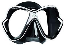 MARES X Vision Immersione Snorkeling Maschera Nuova versione con Gonna Tri Comfort-Nero Bianco