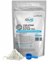 NVS CREATINE ETHYL ESTER HCL POWDER KOSHER -BUILD MUSCLE- CEE USP GRADE USA
