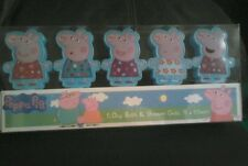 Peppa pig 5 day bath & shower gels