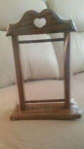 """Solid Oak Wood  BELL PULL """" HARDWARE """"   Display Stand"""