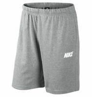 New Men's Nike Cotton Sweat Shorts Pants Sports Gym Summer Knee Length
