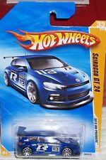 2010 Hot Wheels HW Premiere Blue Volkswagen Scirocco GT 24 Diecast 4+ Malaysia