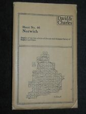 Norwich; Ordnance Survey 1838 First Edition Reprint - Map Sheet 46, Norfolk 1980