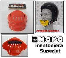 Mentoniera paramento chin vestment casco helmet NAVA cross std rosso red