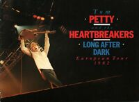 TOM PETTY & THE HEARTBREAKERS 1982 LONG AFTER DARK EUROPEAN TOUR PROGRAM BOOK EX