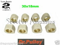 DR PULLEY ROLLERS 20x17 10.5G 6 rollers a set