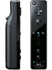 Official Nintendo Wii U Remote Plus Black Controller +Strap Authentic Genuine UD