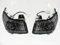 Lampeggiante Nero Lampeggiatore Frontale Suzuki GSR 600 WVB9 Fumé Segnali GSR600