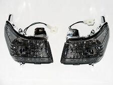 Black Indicators Front Blinker Suzuki GSR 600 WVB9 Smoked Front Signals GSR600